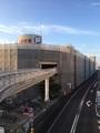 土浦市立体駐車場改修足場工事